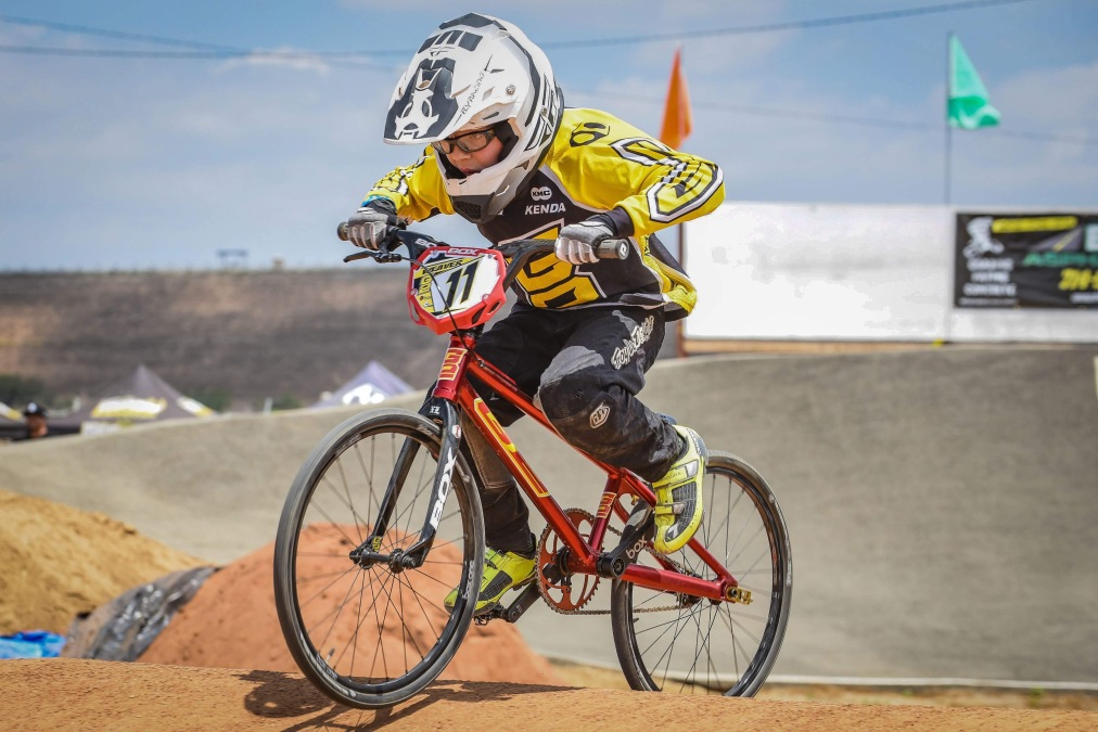 All things Aiden – The next generation of BMX racer.