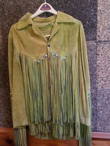 Fringe Jacket Worn by Duane Allman